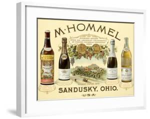 Hommel Champagne Vineyard by Jules Chéret