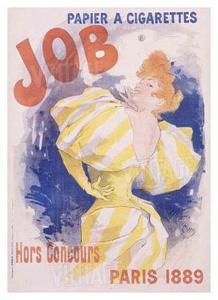 Job Papier and Cigarettes by Jules Chéret