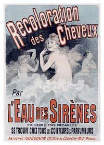 L'Eau des Sirenes by Jules Chéret