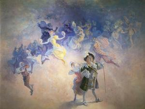 La Comedie by Jules Chéret