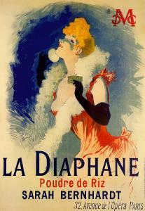 La Diaphane by Jules Chéret