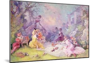 'Le Déjeuner Sur l'Herbe', 1904 by Jules Chéret