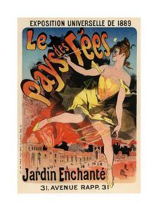 Le Pays Des Fees, 1889 by Jules Chéret