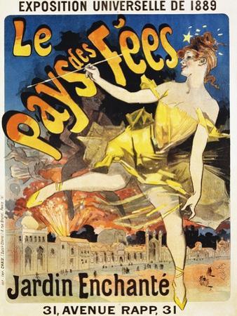 Le Pays Des Fees Poster by Jules Chéret