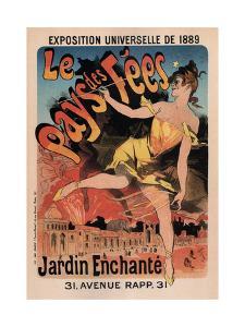 Le Pays Des Fees by Jules Chéret
