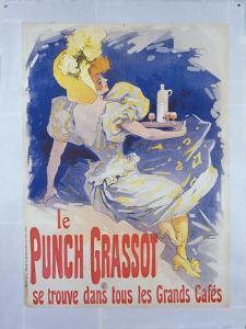 Le Punch Grassot, France, 1896 by Jules Chéret