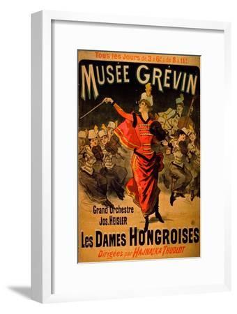 Les Dames Hongroises at the Musée Grévin, 1888