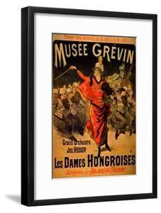 Les Dames Hongroises at the Musée Grévin, 1888 by Jules Chéret