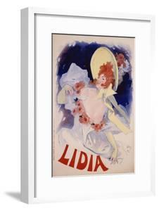 Lidia Poster by Jules Chéret