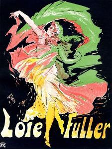Loïe Fuller', 1897 by Jules Chéret