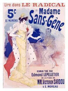Madame Sans Gene by Jules Chéret