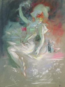 Masquerade, 1890s by Jules Chéret