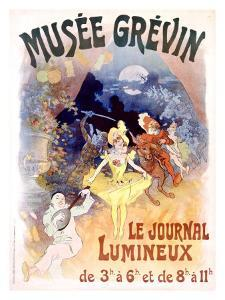 Musee Grevin, Le Journal Lumineux by Jules Chéret