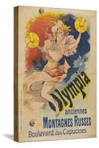 Olympia, Former Roller Coaster. Boulevard Des Capucine by Jules Chéret