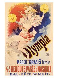 Olympia by Jules Chéret