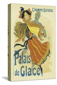 Palais De Glace, Champs-Elysees by Jules Chéret