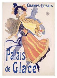 Palais de Glace by Jules Chéret