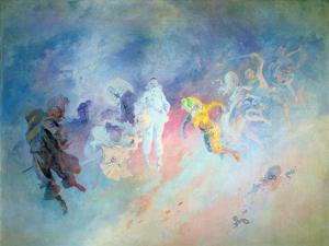 Pantomime, from the Salon Cheret by Jules Chéret
