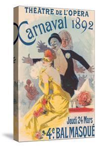 Paris Opera (Théâtre de L'Opéra) - Carnival Masquerade by Jules Chéret