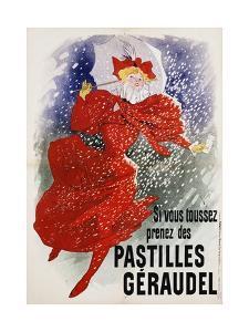 Pastilles Geraudel Poster by Jules Chéret