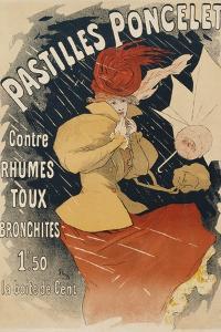 Pastilles Poncelet Poster by Jules Chéret