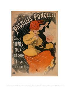 Pastilles Poncelet by Jules Chéret