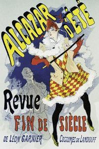 Poster Advertising a Show by Jules Chéret