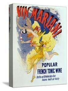 """Poster Advertising """"Mariani Wine"""", a Popular French Tonic Wine, 1894 by Jules Chéret"""