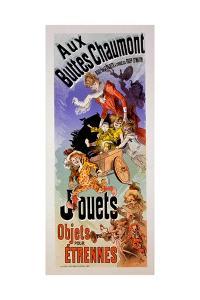 Poster for 'Aux Buttes Chaumont' Toy Shop, C.1899 by Jules Chéret