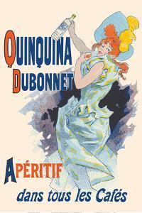 Quinquina Dubonnet - French Aperitif Wine & Spirits by Jules Cheret