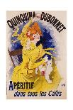 """Reproduction of a Poster Advertising """"La Gomme,"""" by Felicien Champsaur-Jules Chéret-Giclee Print"""