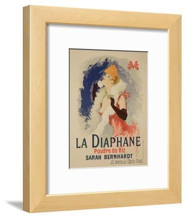 """Reproduction of a Poster Advertising """"La Diaphane"""""""