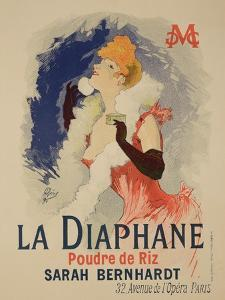 """Reproduction of a Poster Advertising """"La Diaphane"""" by Jules Chéret"""