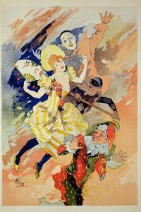 Reproduction of a Poster for a Pantomime, 1891 by Jules Chéret