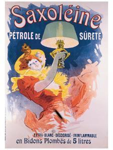 Saxoleine en Bidons Plombes by Jules Chéret