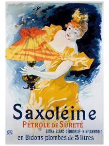 Saxoleine Ininflammable by Jules Chéret