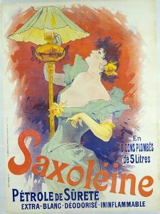 Saxoleine, Petrole De Surete, France, 1890 by Jules Chéret