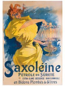 Saxoleine Petrole de Surete by Jules Chéret