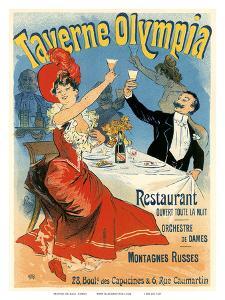 Taverne Olympia Art Nouveau, La Belle Époque by Jules Chéret
