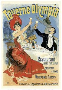 Taverne Olympia Restaurant by Jules Chéret