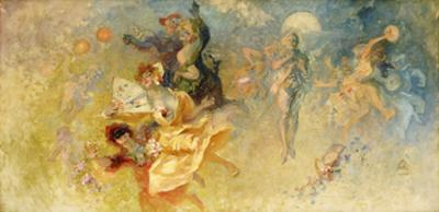 The Masked Ball by Jules Chéret