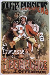 The Princess of Trebizond by Jules Chéret