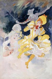 The Rainbow; L'Arc En Ciel, C.1894 by Jules Chéret