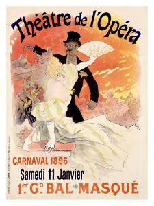 Theatre de l'Opera by Jules Chéret