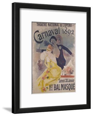 Theatre National de l'Opera, Carnaval 1892, Samedi 30 Janvier, 1er Bal Masque