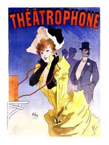Theatrophone by Jules Chéret