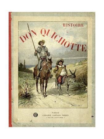 Book Cover of 'Don Quichotte' (Don Quixote)