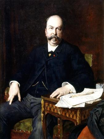 Portrait of Henri Meilhac, 1885
