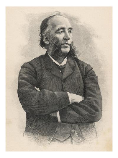 Jules Ferry French Statesman--Giclee Print