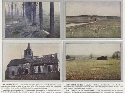 Autour De Soisy, Mondement Vu Des Marais, L'Eglise De Mondement, Sur Le Plateau De Mondement